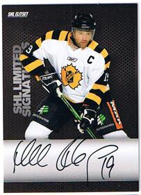 2008-09 SHL Limited Signatures s.2 #6 Mikael Renberg Skellefteå AIK /25
