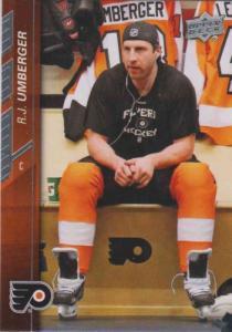 R.J. Umberger 2015-16 Upper Deck #142 - Philadelphia Flyers