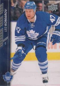 Leo Komarov 2015-16 Upper Deck #174 - Toronto Maple Leafs