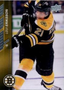 Loui Eriksson 2015-16 Upper Deck #18 - Boston Bruins