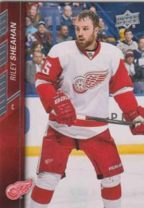 Riley Sheahan 2015-16 Upper Deck #65 - Detroit Red Wings