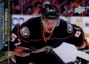 Rickard Rakell 2015-16 Upper Deck #6 - Anaheim Ducks