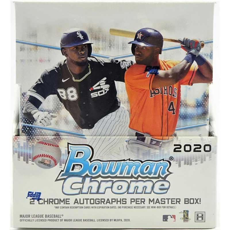 Hel Box 2020 Bowman Chrome Baseball Hobby
