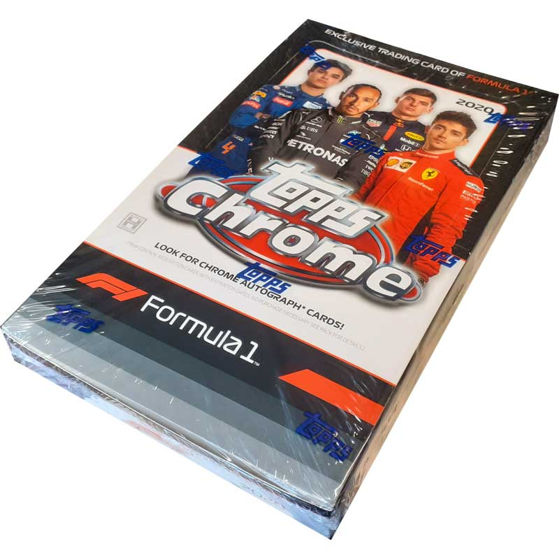 Hel Box 2020 Topps Chrome Formula 1