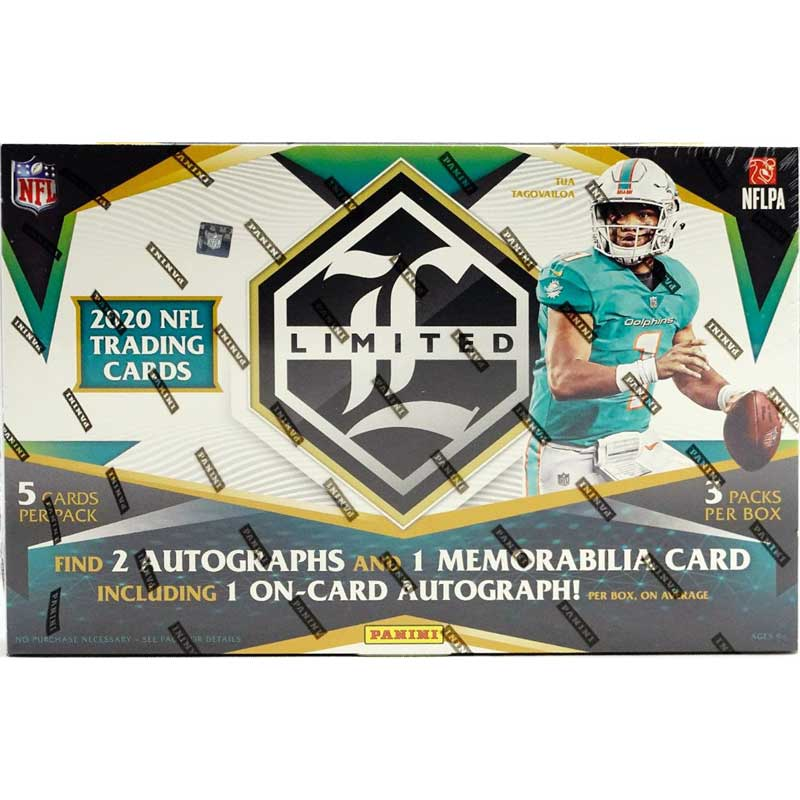 Hel Box 2020 Panini Limited Football Hobby