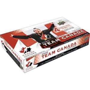 FÖRKÖP: Hel Box 2020 Upper Deck Team Canada Juniors Hobby (FRAMFLYTTAD Preliminär release 30:e september 2020)