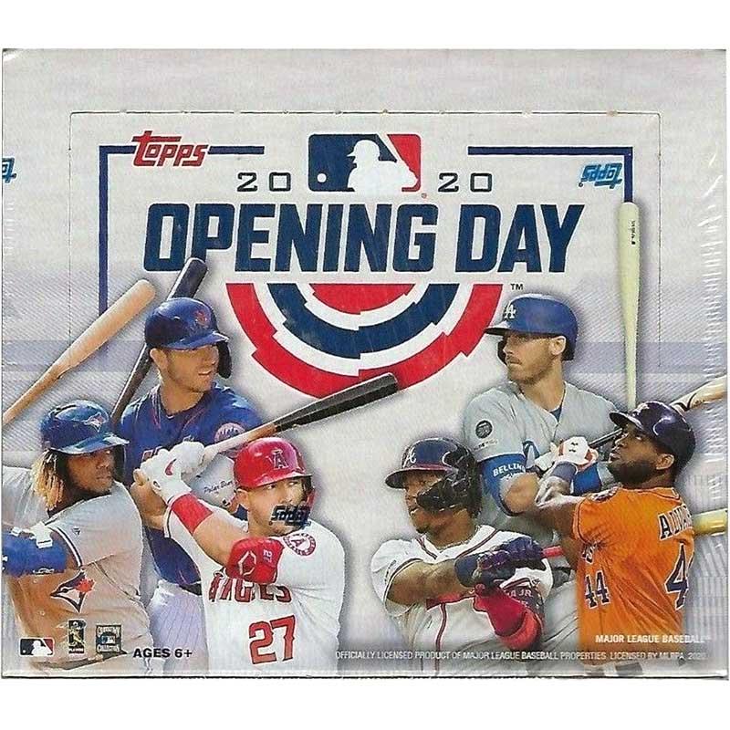Hel Box 2020 Topps Opening Day Baseball