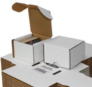 Papplåda för ca. 200 kort / 200 COUNT STORAGE BOX
