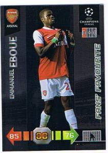 Fans Favourites, 2010-11 Adrenalyn Champions League, Emmanuel Eboue