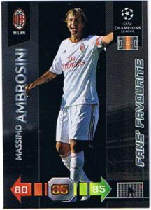 Fans Favourites, 2010-11 Adrenalyn Champions League, Massimo Ambrosini