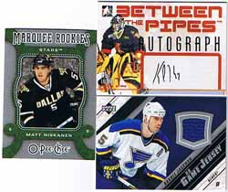 Jerseykort + Autografkort + Rookiekort