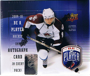 Sealed Box 2009-10 Be A Player Hobby