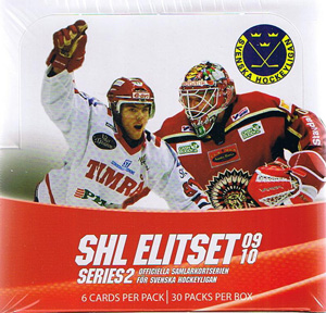 Sealed Box 2009-10 Swedish SHL series 2