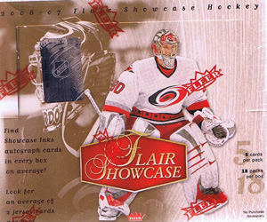 Hel Box 2006-07 Fleer Flair Showcase