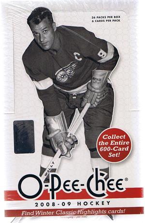 Sealed Box 2008-09 O-Pee-Chee Hobby