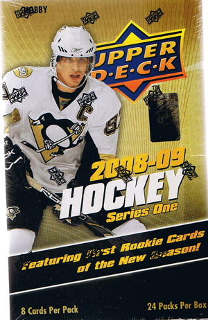Hel Box 2008-09 Upper Deck, serie 1 Hobby