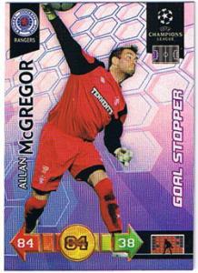 Goal Stopper, 2010-11 Adrenalyn Champions League, Allan McGregor
