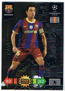 Champions, 2010-11 Adrenalyn Champions League, Xavi Hernandez