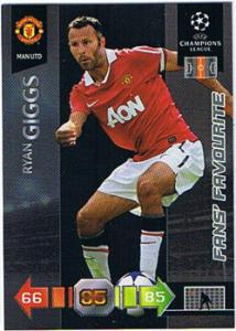 Fans Favourites, 2010-11 Adrenalyn Champions League, Ryan Giggs