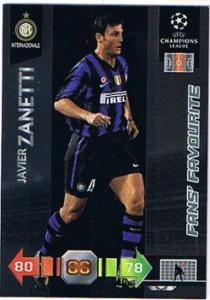 Fans Favourites, 2010-11 Adrenalyn Champions League, Javier Zanetti
