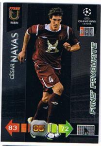 Fans Favourites, 2010-11 Adrenalyn Champions League, Cesar Navas