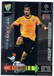 Fans Favourites, 2010-11 Adrenalyn Champions League, Ömer Erdogan