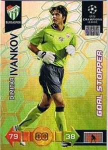 Goal Stopper, 2010-11 Adrenalyn Champions League, Dimitar Ivankov
