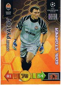 Goal Stopper, 2010-11 Adrenalyn Champions League, Andriy Pyatov