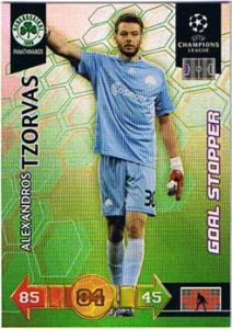 Goal Stopper, 2010-11 Adrenalyn Champions League, Alexandros Tzorvas
