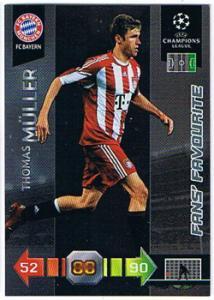 Fans Favourites, 2010-11 Adrenalyn Champions League, Thomas Muller / Thomas Müller
