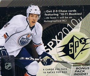 Hel Box 2010-11 Upper Deck SPX Hobby