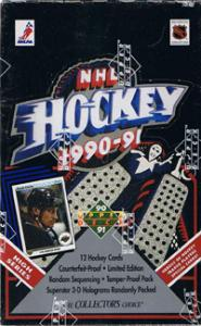 Hel Box 1990-91 Upper Deck, Höga serien