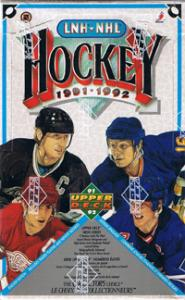 Sealed Box 1991-92 Upper Deck English Edition, High Series