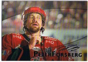 2004-05 SHL Tribute to Peter Forsberg #4 Peter Forsberg