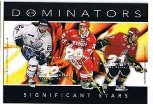 2004-05 SHL Dominators #2 Peter Forsberg/ Henrik Zetterberg/ Tallinder