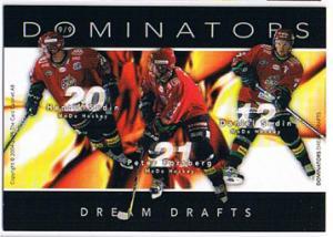 2004-05 SHL Dominators #9 Peter Forsberg/ Sedin/ Sedin