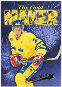 1996 Semic Wien Nordic Stars #NS1 Peter Forsberg