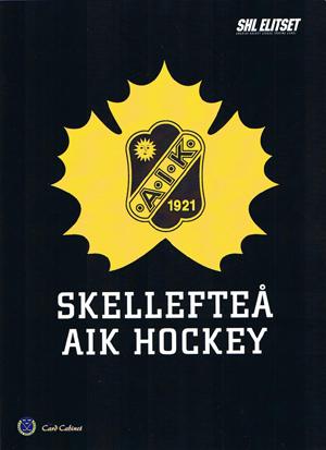 Skellefteå AIK Portfoliopärm A4 (Rymmer 90 kort)