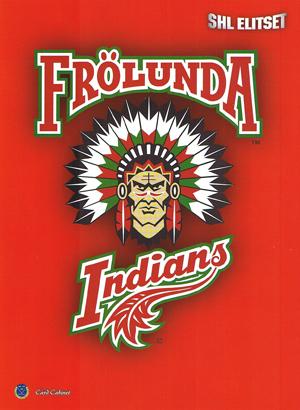 Frölunda Indians, Portfolio binder A4 (Can hold 90 cards)