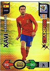Champions, 2010 Adrenalyn VM, Xavi Hernandez