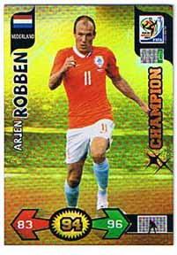 Champions, 2010 Adrenalyn WC, Arjen Robben