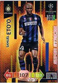 Super Strikes, 2010-11 Adrenalyn Champions League, Samuel Etoo