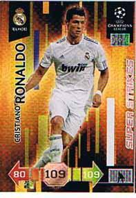 Super Strikes, 2010-11 Adrenalyn Champions League, Cristiano Ronaldo