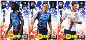 Update base teamset Lyon Champions League 2010-11