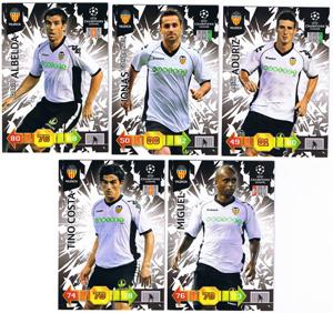 Update base teamset Valencia Champions League 2010-11