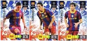Update base teamset Barcelona Champions League 2010-11