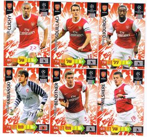 Update base teamset Arsenal Champions League 2010-11