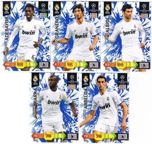 Update base teamset Real Madrid Champions League 2010-11