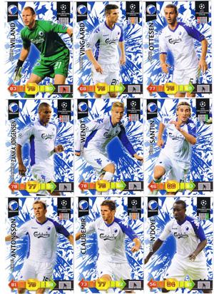 Update base teamset FC Copenhagen Champions League 2010-11