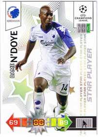 Star Player 2010-11 Adrenalyn Champions League Update, Dame NDoye
